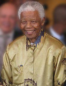 Nelson Mandela nace el 18 de julio de 1918 en Mvezo, Unión Sudafricana.