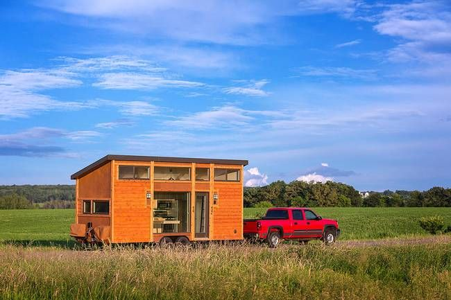 Talented architect tackles the tiny house and comes up with a mini gem. the Escape Traveler.