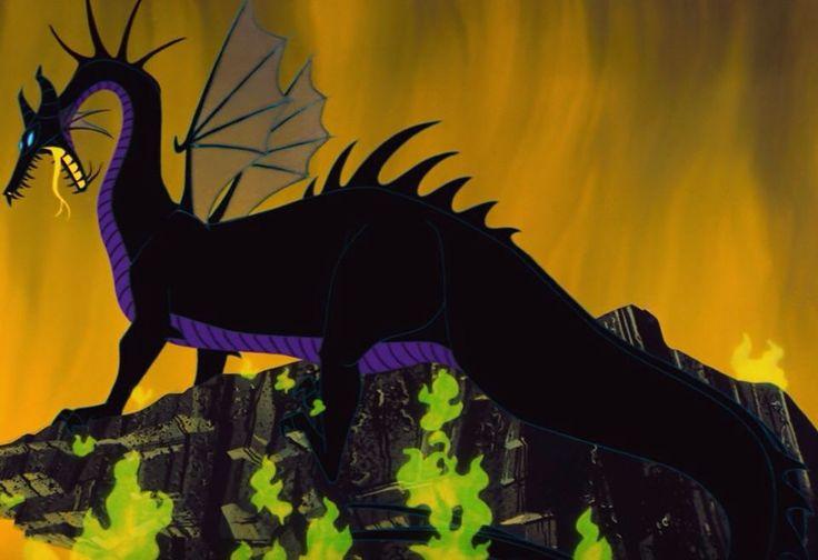 Maleficent's dragon