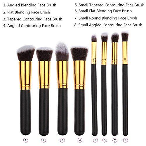 iLoveCos Makeup brushes Premium Synth…