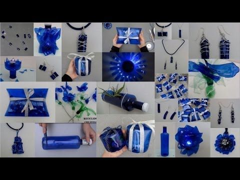 Ideas creativas para reciclar botellas de plástico azules Top 10 ideas recycling…