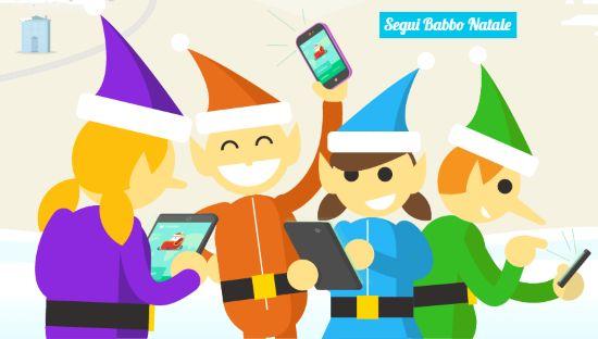 Letychicche: Segui Babbo Natale