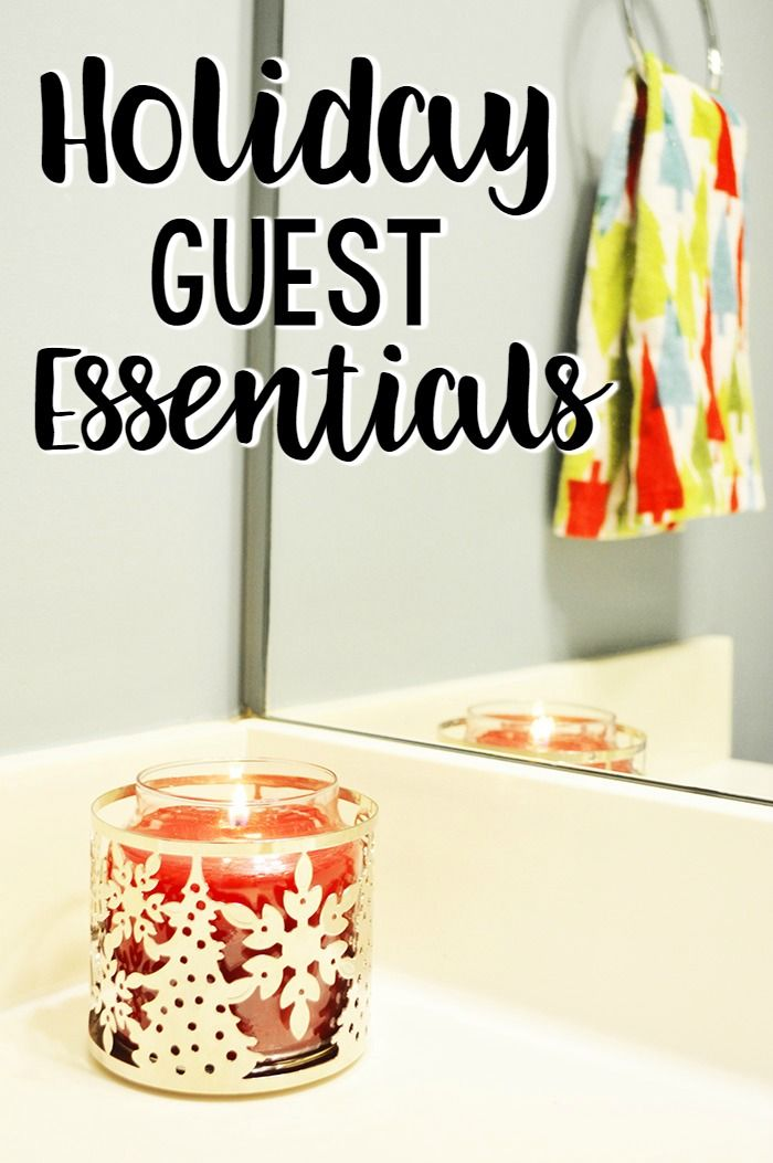 Holiday guest essentials- everything you need for a wonderful holiday season. #ad #CelebrateClean