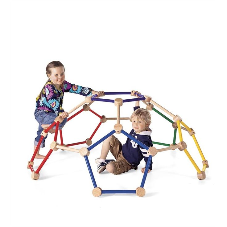 We have two young boys and they now spend a lot of time climbing on this instead of the furniture! ...It also makes a great fort when you throw a blanket over it.