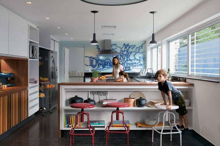 Oito cozinhas organizadas, bonitas e com ótima solução de espaço | CASA CLAUDIA