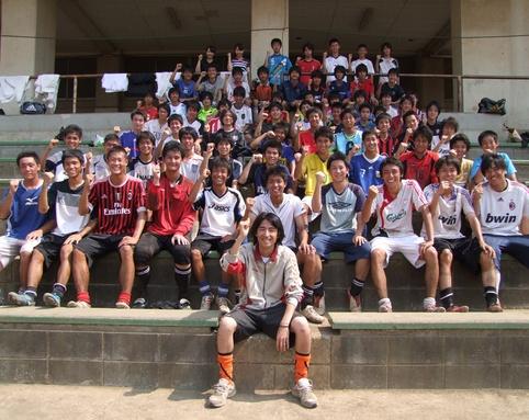 山手学院サッカー部のおはなし。