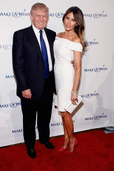 """Donald Trump and Melania Trump attend """"An Evening of Wishes"""", Make-A-Wish Metro New York's 30th Anniversary Gala at Cipriani, Wall Street on June 13, 2013 in New York City."""