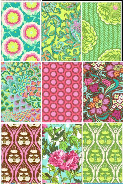 Soul Blossoms Amy Butler fabric bundle Joy by anthemfabrics