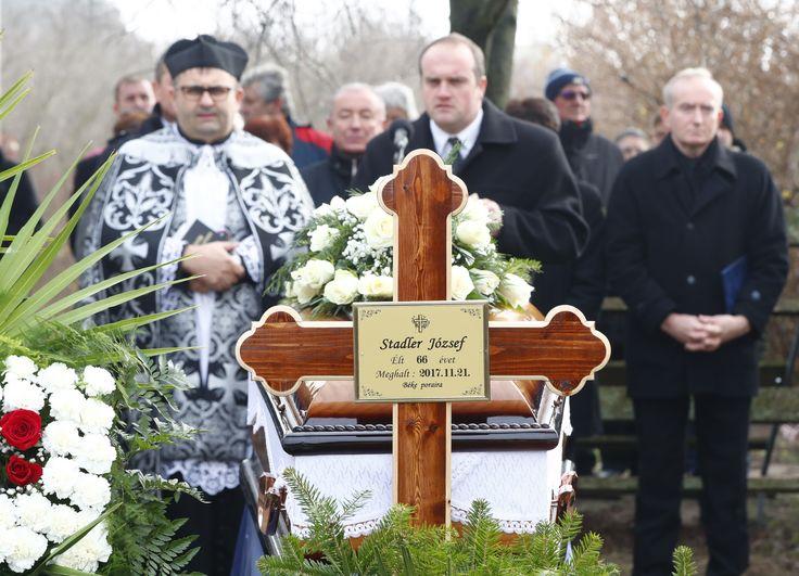 Stadler József temetése.