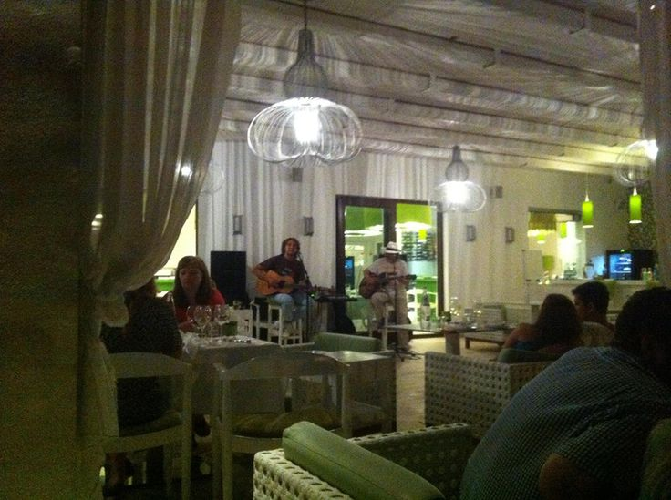 Live Music at Salvator Villas & Spa Hotel, Parga, Greece www.salvator.gr