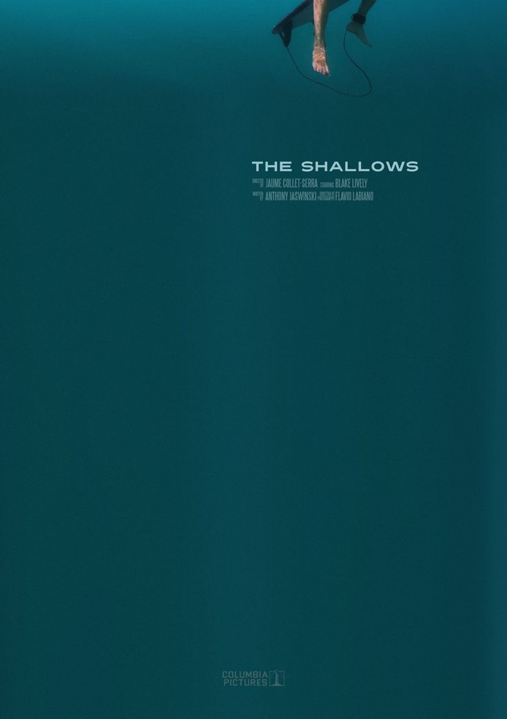 Day 297: The Shallows. #amovieposteraday