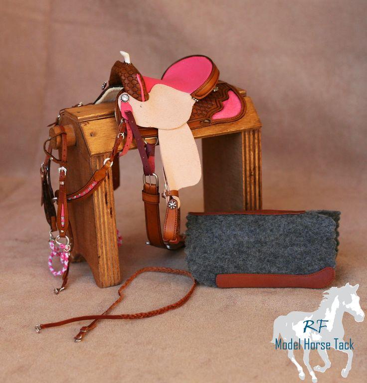 Rachel Fail Model Horse Tack