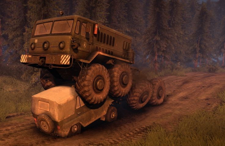Spintires Video game Screenshot