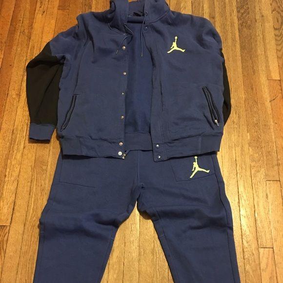Men's Jordan Sweat Suit Size XXL. Worn twice. Excellent like new condition. Jordan Other