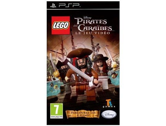 Jeu PSP DISNEY LEGO Pirates des Caraibes : Hissez les voiles moussaillons pour accueillir comme il se doit le capitaine Jack Sparow !