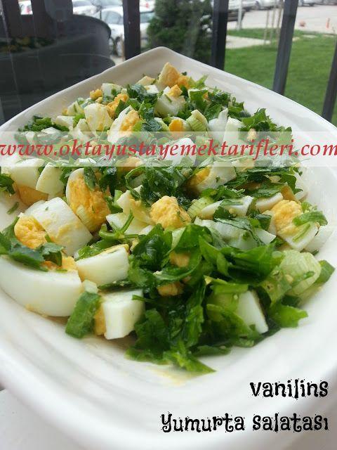 Maydanozlu Yumurta Salatası