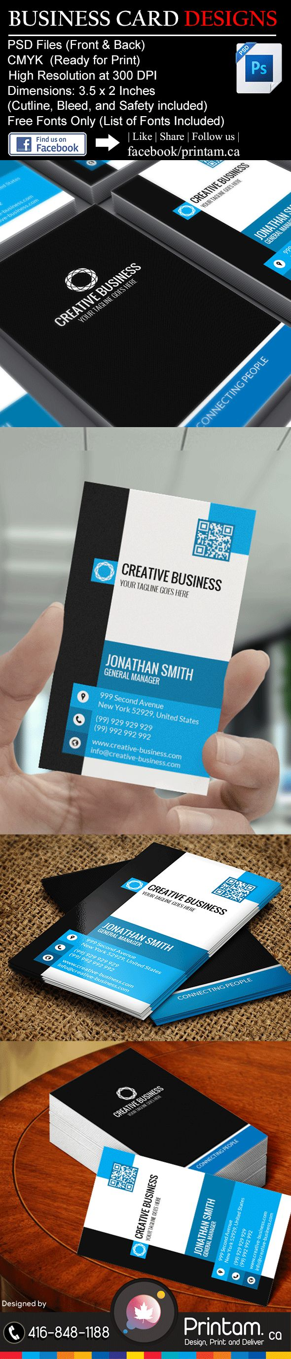 10 best Business IT - Business Card Designs images on Pinterest ...