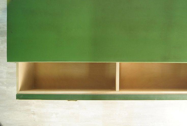 """Большой зеленый комод """"Emerald"""" –  купить дизайнерскую мебель в магазине Этажерка"""