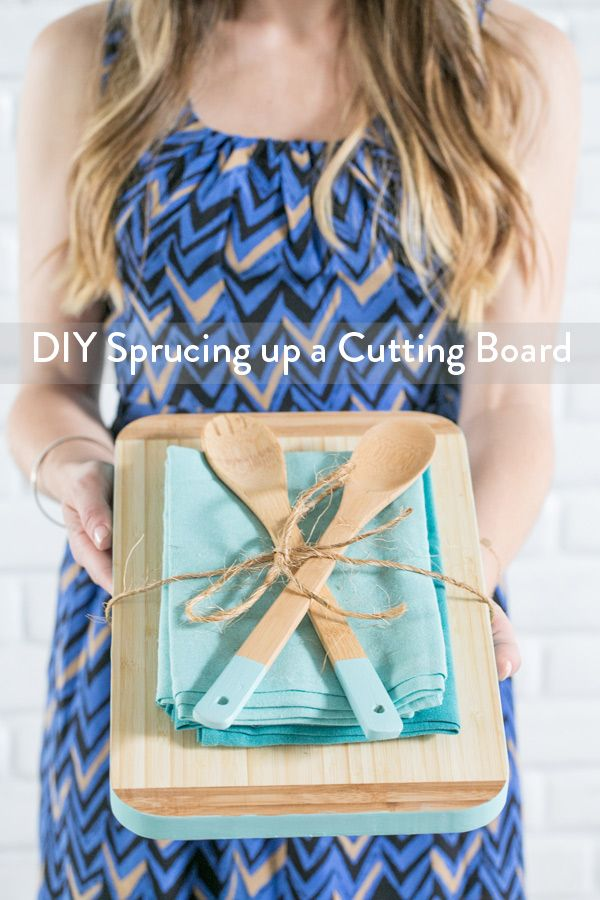 Sprucing up the Cutting Board