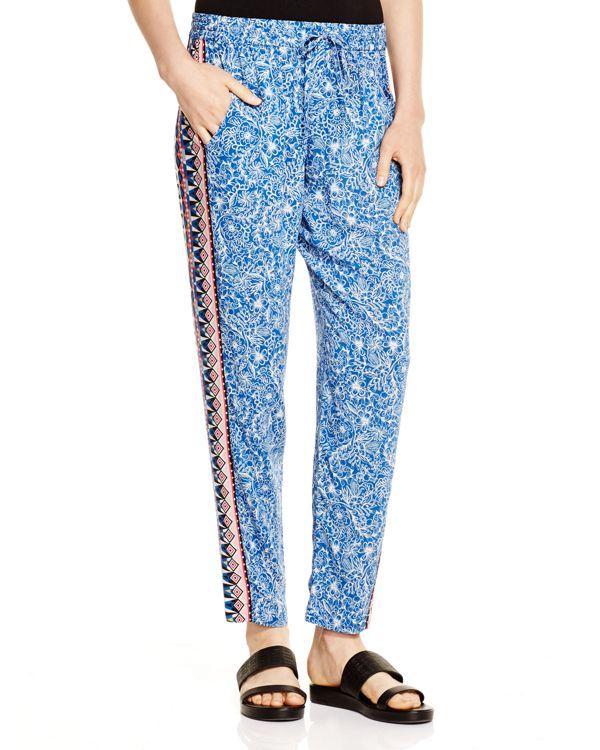 French Connection Bali Batik Draped Pants