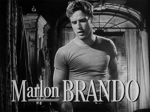 12 GIFs That Prove Marlon Brando Was The Hottest Actor In The History Of Film - May 1, 2014 - The Gaily Grind