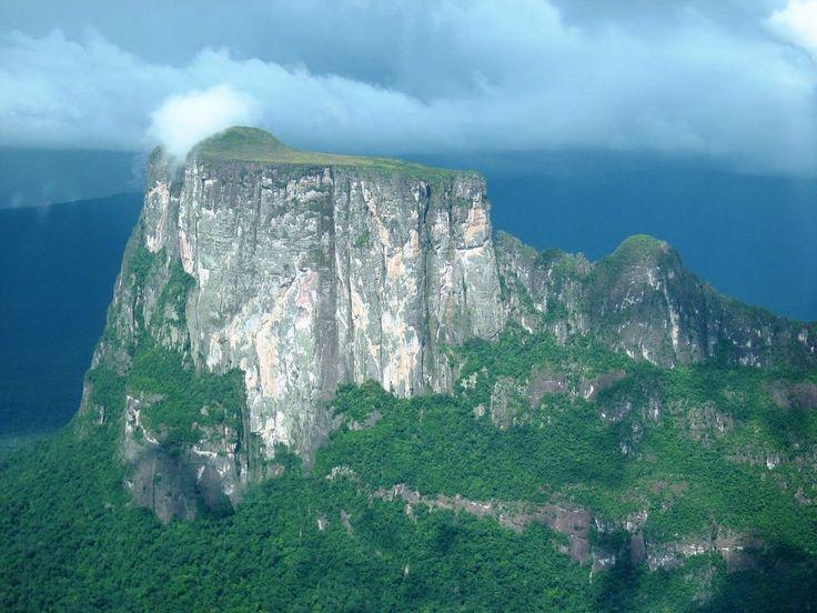 Тепуи – там, где не ступала нога человека. Венесуэла.