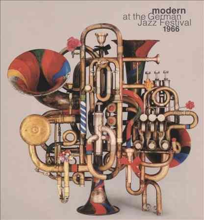 Various - Modern at The German Jazz Festival: 1966
