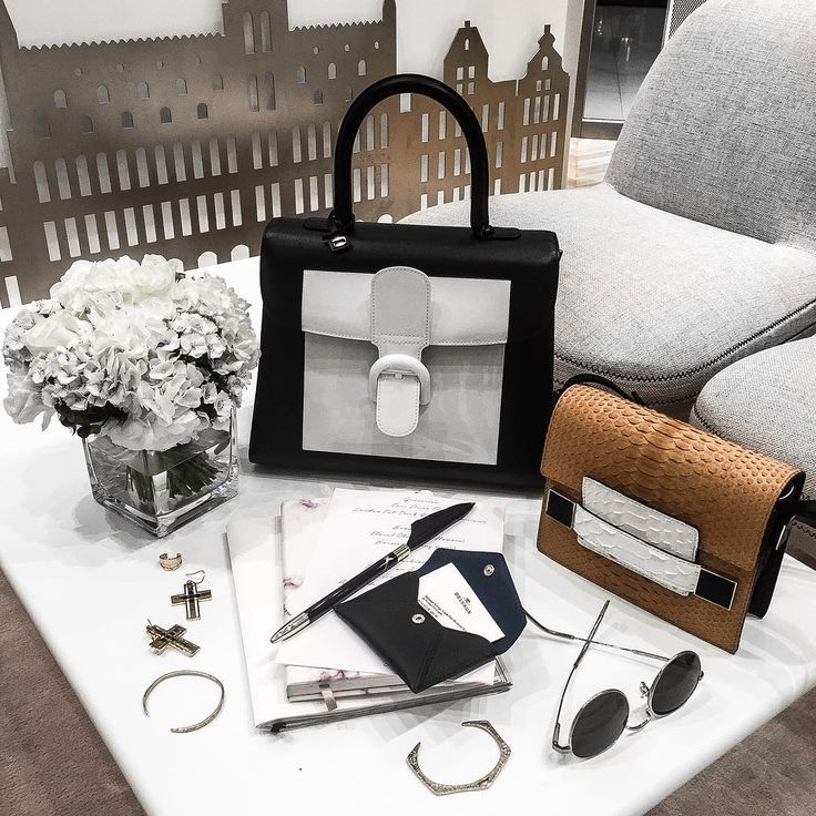"""""""Getting ready for CNY at @scottssquaresg with my checklist on hand. First stop @Delvaux, and already drawn to this Brillant Smoking bag with its iconic…"""""""