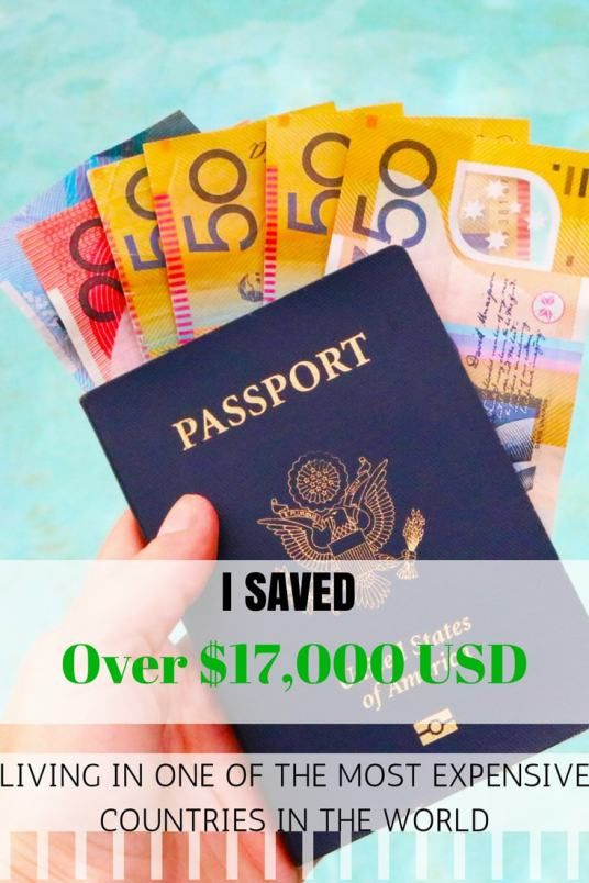 How to save A LOT of money in an expensive country and QUICK!