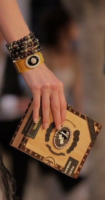 99abace7feaea4 Chanel 2017 Havana By Night Cigar Box Bag   CHANEL