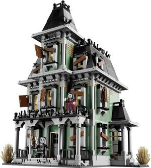 Lego Monster Figthers - Haunted House (10228) cover