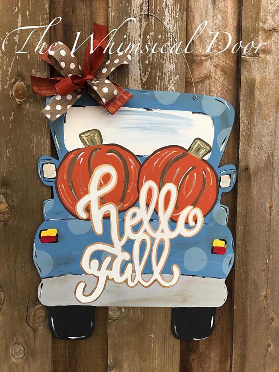 Best 25 Fall Door Hangers Ideas On Pinterest Fall Door