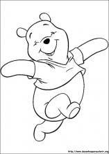 Desenhos do Pooh para colorir