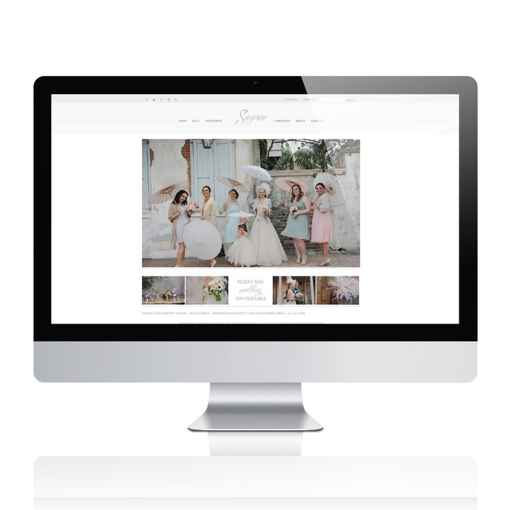 Prophoto 5 Wordpress Template - Sazerac / Color splash Design Studio