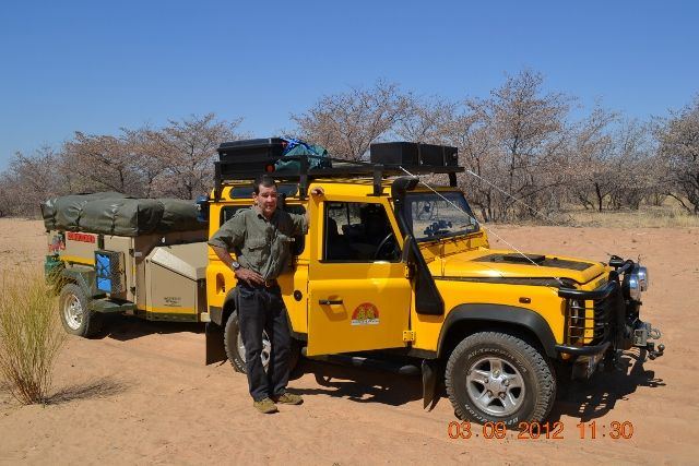 Robert Godley's Land Rover 90 in South Africa. My Land Rover has a Soul, MLRHAS, Land Rover Book