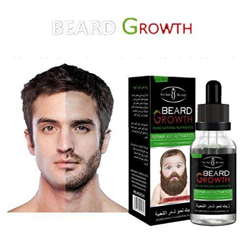 Beard Grow | Facial Hair Supplement | #1 Mens Hair Growth Vitamins | For Thicker and Fuller Beard