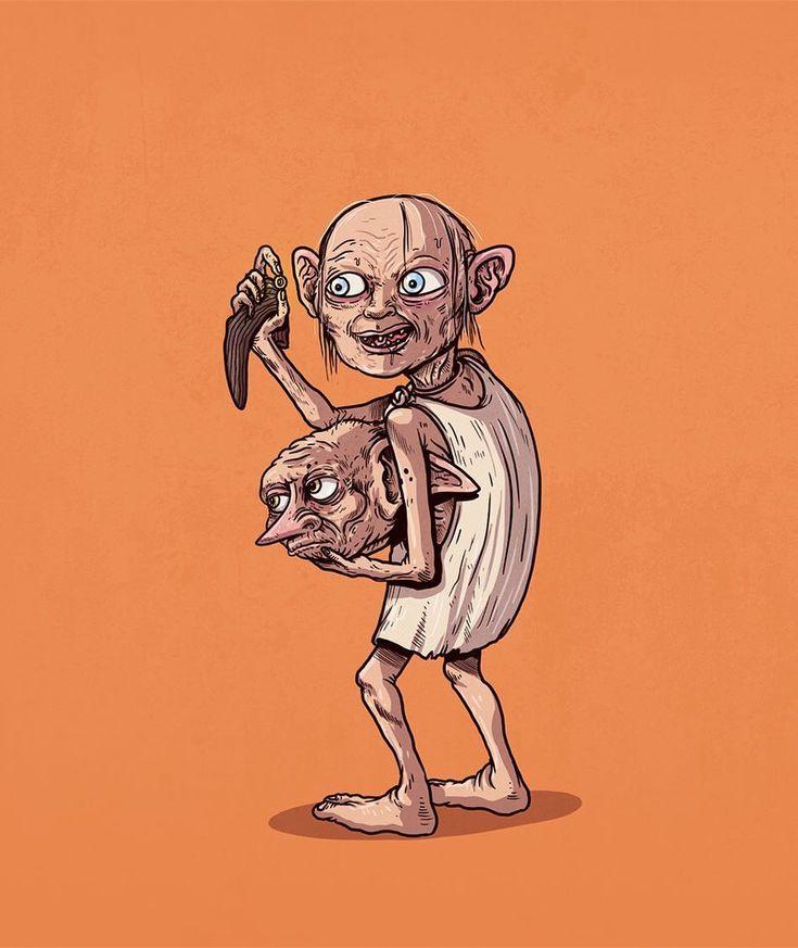 Dobby Unmasked #iconsunmasked by alexmdc