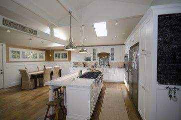 French-Contemporary Kitchen - eclectic - kitchen - los angeles - Stonebrook Design Build