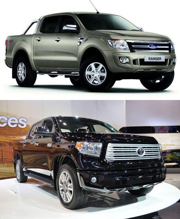 2015 Ford Ranger Diesel VS 2015 Toyota Hilux Diesel
