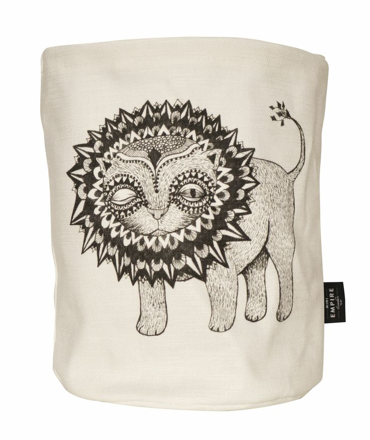 Mini Empire textile bag lion