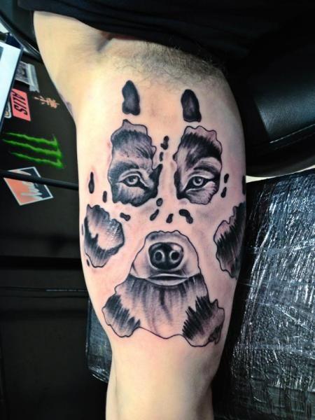 Tribal Bear Tattoos for Men   ... bears, bear tattoos, tattoos, tattoo designs, tattoo pictures, tribal