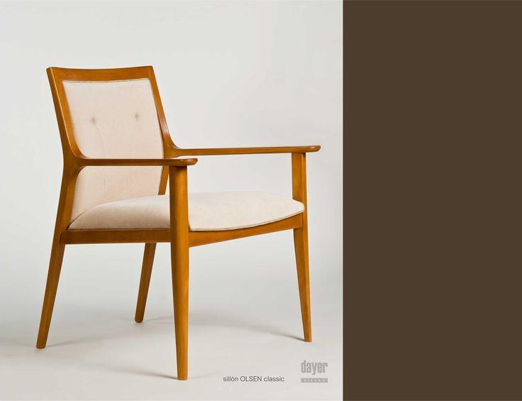 CATALOGO LINEA OLSEN de DAYER SILLAS Diseño: arn.salum.diseño Fotografía: Luis Simes  Encontrá estos productos en MANIFESTO