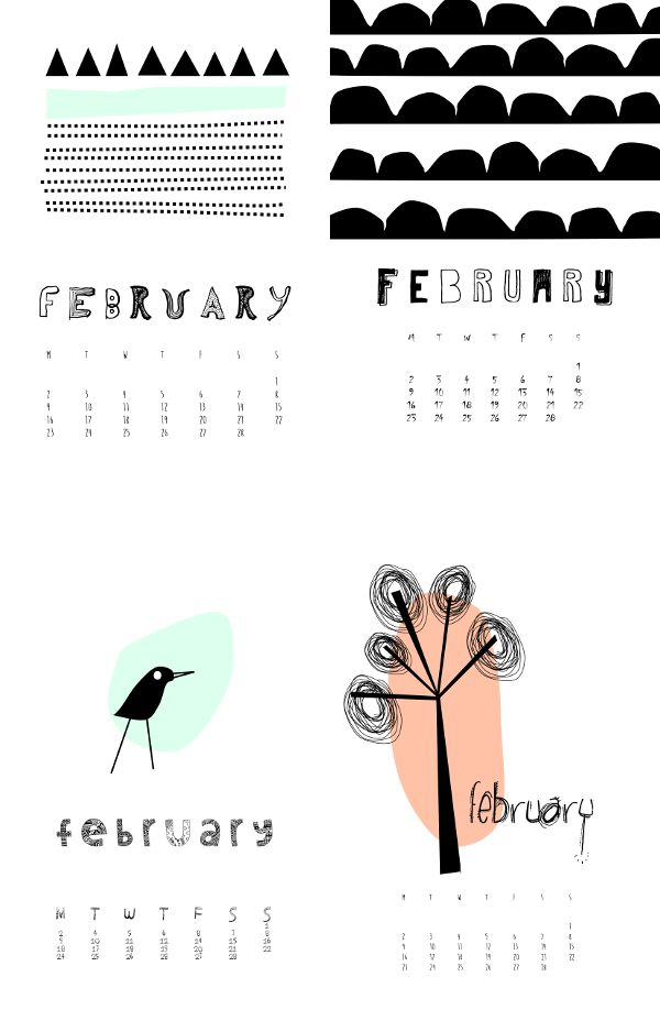 february 2015. design by me
