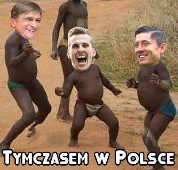 Tymczasem w Polsce radość Milika, Lewandowskiego i Nawałki • Polacy po losowaniu grup eliminacji Mistrzostw Świata w Rosji 2018 >>