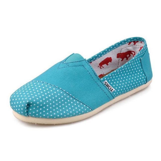 bbbbbbbbbbbbbbbbbbbbbbbbbb New Style Toms women's shoes Wave point blue