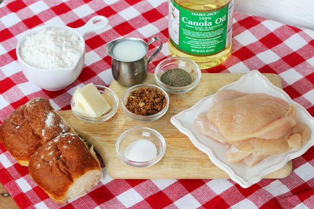 Fried Chicken and Bacon Gravy Sliders   Coupon Clipping Cook