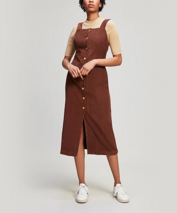 Havana Corduroy Dress | Liberty London | Corduroy dress