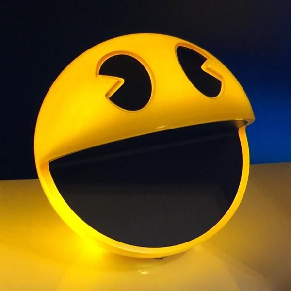 Retro PAC-MAN Lamp, Complete With Classic Sound Effects From The Game — GeekTyrant