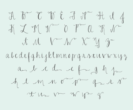Joelle charming font calligraphy tutorials