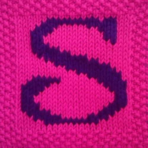 Knitting Letters Template : Best images about s on pinterest